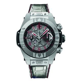 Hublot Watches - Big Bang 45mm Unico World Poker Tour