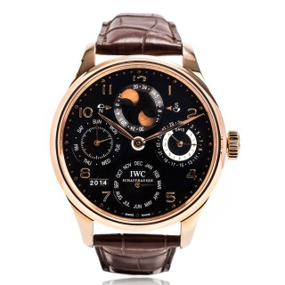IWC Watches - Portuguese Perpetual Calendar - Red gold